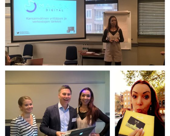 Speaking at TalentGate London training day